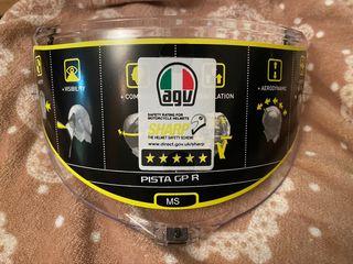Visera transparente AGV Pista GP-R talla M/S