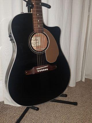Fender Sonoran thinline black, electroacoustic