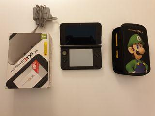 Nintendo 3DS XL + 7 juegos + funda