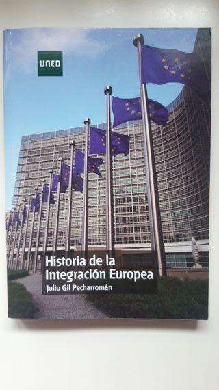 Libro Historia de la integración Europea Julio Gil