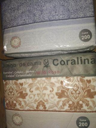 Sábanas Coralina 200x200