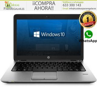 Portátil Hp EliteBook 820 G1, i5 / SSD / 8Gb Ram /