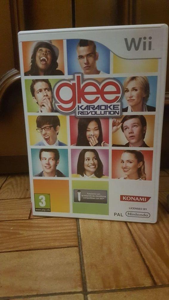 Karaoke Glee para Wii