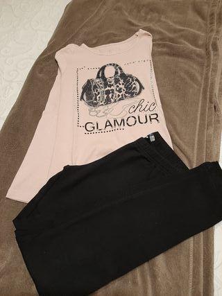 Conjunto legging y camiseta sport niña t 10