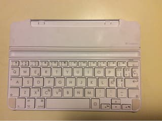 Teclado blanco logitech ipad mini