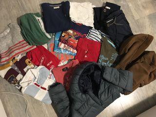Lote ropa niño 4/5 años
