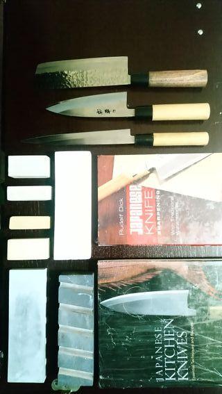 Kit de cuchillos japoneses