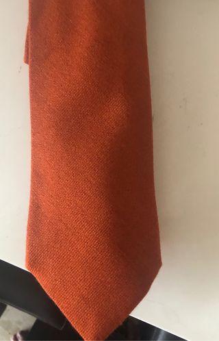 Corbata seda y cachemir lisa