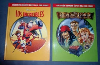 2 Comics los increíbles y piratas del caribe