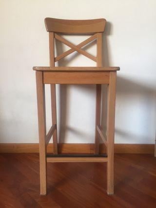 Taburete alto Ingolf Ikea