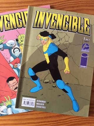 comic 1/2 INVENCIBLE de Kirkman