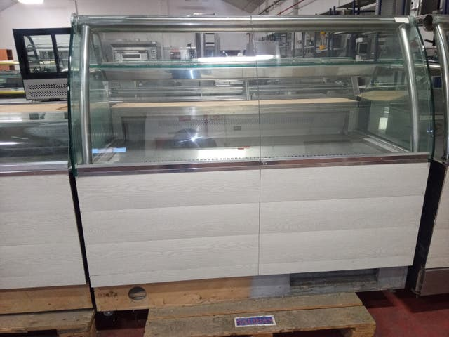 vitrina refrigerada especial panaderia/ pasteleria