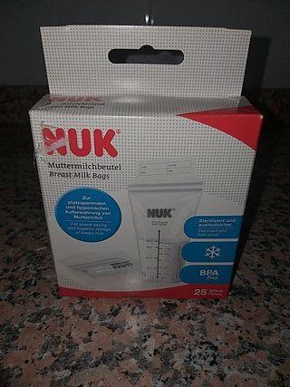 bolsas de congelación leche materna NUK