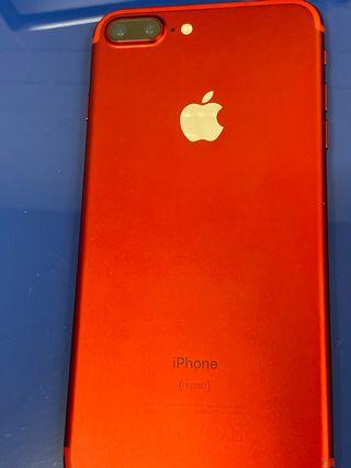 Iphone 7plus rojo
