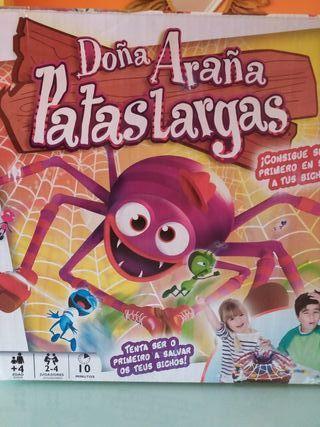 Araña Patas Largas
