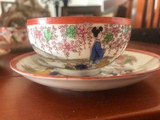 Juego tazas de té japonesas