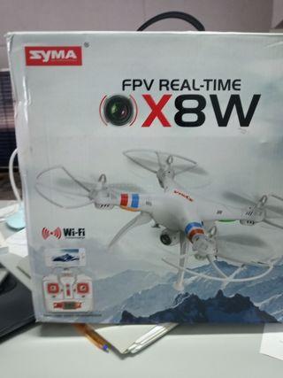 dron syma x8w wifi GPS HD cam 360