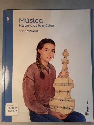 Libro historia de la musica para secundaria