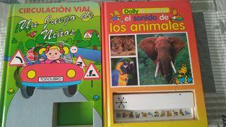 Dos libros pastas duras infantiles