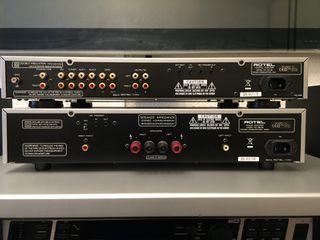 ROTEL Preamplificador RC-06 y Amplificador RB-06