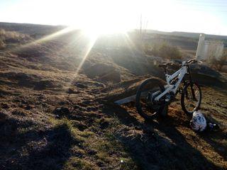 bicicleta canyon torque FRX de descenso