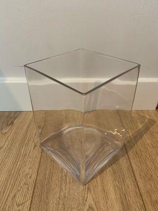Jarrón de cristal