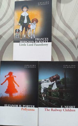 3 Books English