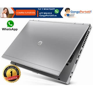 Portátil Hp EliteBook 8460p, i5 / Usb 3,0 / Cam /