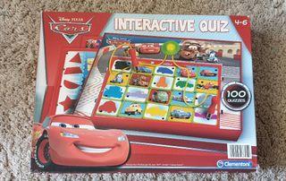 Lote de Pizarra mágica y juego interactivo de Cars