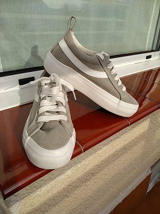 zapatillas plataforma N* 35