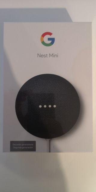 Google home nest mini NUEVO a estrenar