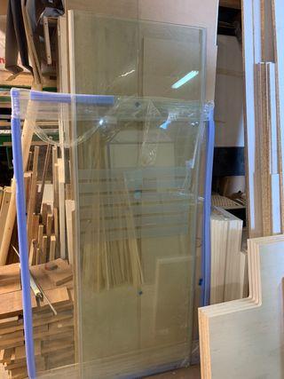 Mampara vidrio templado 10mm