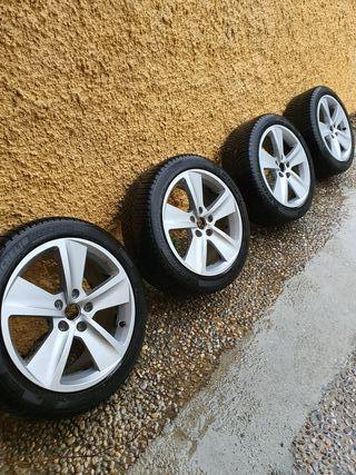 llantas 17 con neumáticos todo tiempo