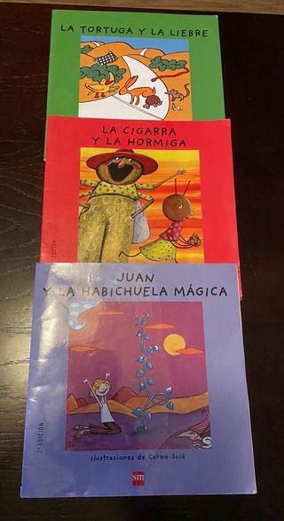 Libro infantiles La cigarra y la Hormiga