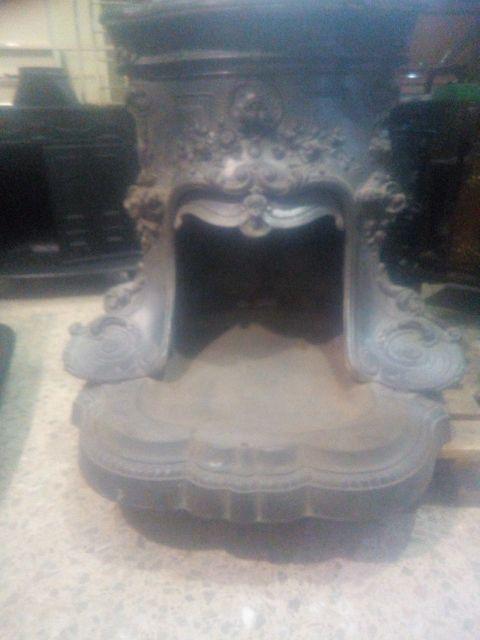 chimenea hogar antigua