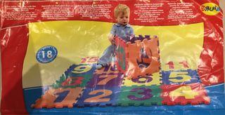 Alfombra de juegos Puzzle Foam ToysRus de segunda mano por