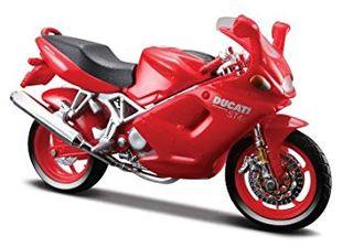 Ducati ST4s - Moto a escala 1:18 - Bburago