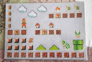 Set de Imanes de Nevera Super Mario Bros