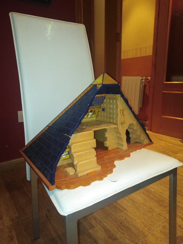 Pirámide del faraón PLAYMOBIL