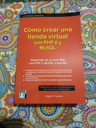 Libro como crear una tienda virtual con PHP 6 Y My