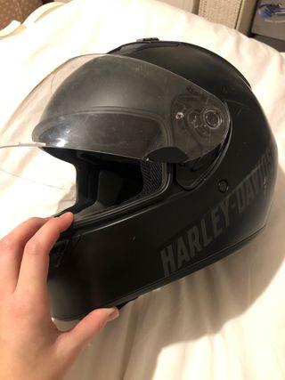 Harley Davidson black helmet