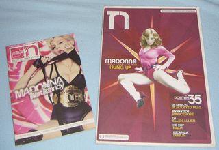 2 revistas Madonna: Hard Candy y confessions
