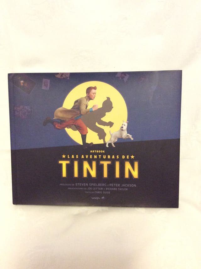 El Arte De Las Aventuras De Tintin Película - Weta