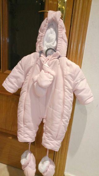 Buzo abrigo mono bebé Mayoral 0-3 meses