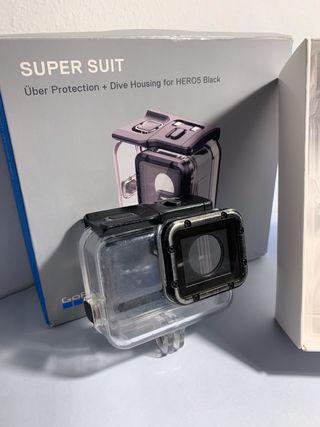 Carcasa de buceo Supersuit Gopro