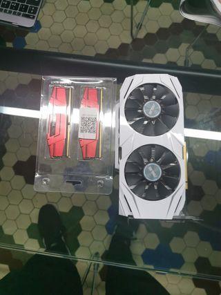gtx 1070 Asus + RAM DDR4 RipJaws