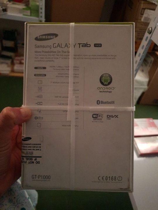 oferta Samsung Galaxy Tab