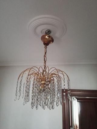 Lámpara de techo y dos apliques pared