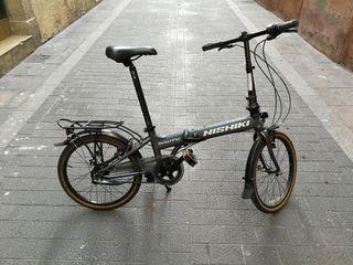 Bicicleta plegable Nishiki