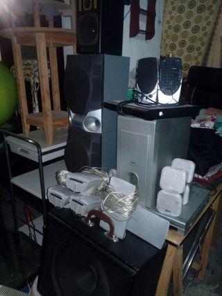 home cinema y amplificadores
